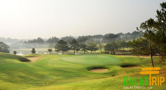Dalat Palace Golf Club - Real challenging for golfers