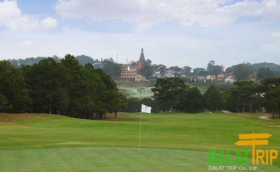 Dalat Palace Golf Club - 18 holes international standard