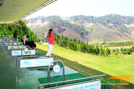 Driving range at Sacom Golf Club