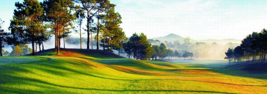 Sân golf Đà Lạt Palace nổi bậc