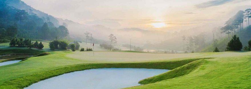 Sân golf SAM Tuyền Lâm nổi bậc