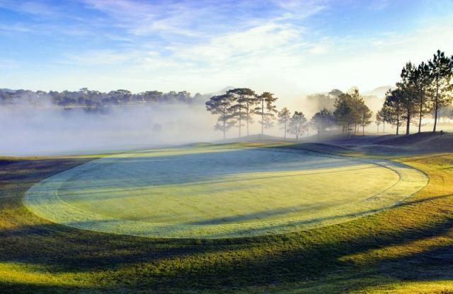 Là sân golf đầu tiên của Đà Lạt và toàn Việt Nam