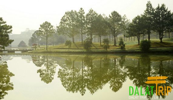 The first golf course of Dalat city & whole Vietnam