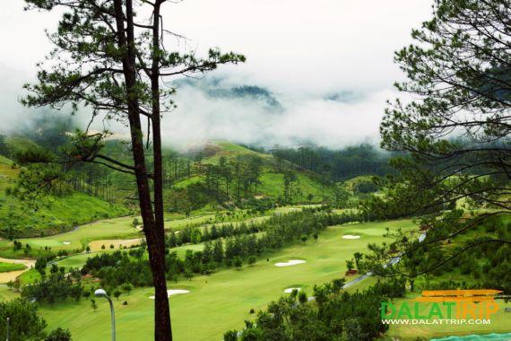 Пейзажи на Sacom Поле для гольфа