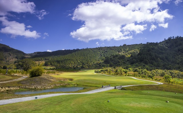 Landscape at Dalat 1200 golf course